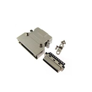 SCSI CN36 female connector with clip
