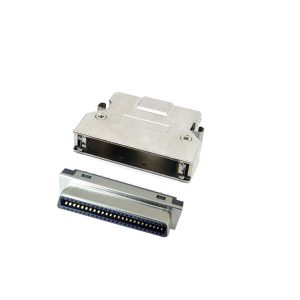 移除 SCSI MDR 50 pin female connector with clip SCSI MDR 50 pin female connector with clip
