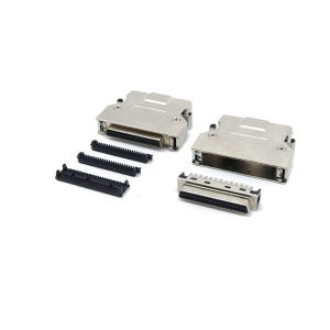 HP-DB 50 Pin SCSI 2 idc female connector with clip