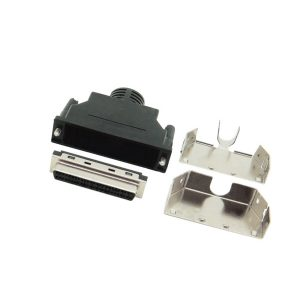 HP-DB 50 Pin SCSI 2 solder female connector with screw