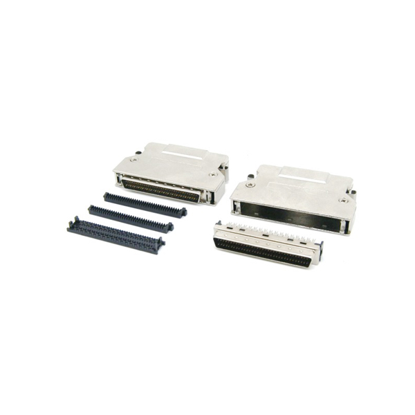 IDC Type DB 68 pin male scsi 3 connector with clip