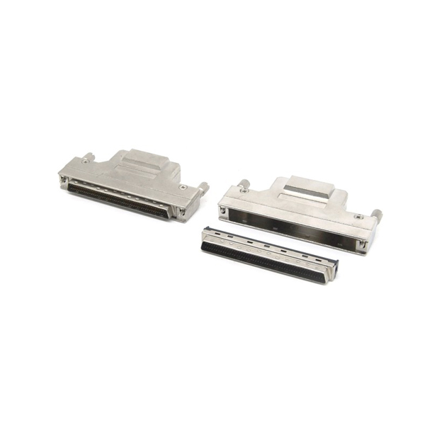 SCSI DB 100 pin male solder Connector with screw