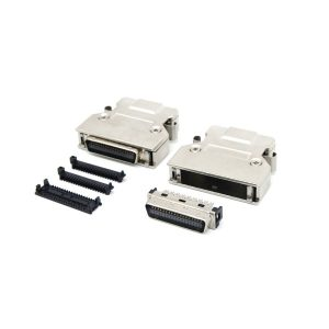 SCSI MDR 26 pin Cable servo Connector with latch clip