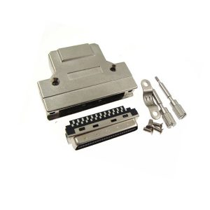 SCSI MDR 50pin solder connector with screw