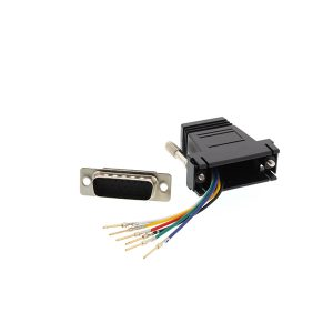 DB15 male to RJ45 modular console adapter