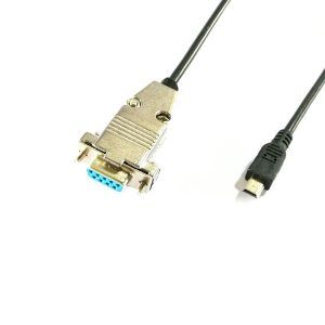 DB9 female to Mini USB male serial Cable