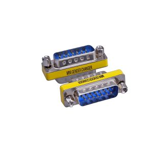 DB15 male to male gender charger Adapter