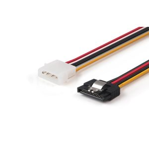 15 pin SATA with latch to 4 pin molex power cable