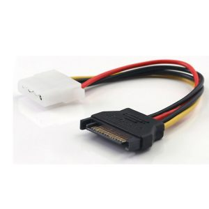 Hard Disk 15 Pin SATA to Molex IDE 4 Pin Power Cable