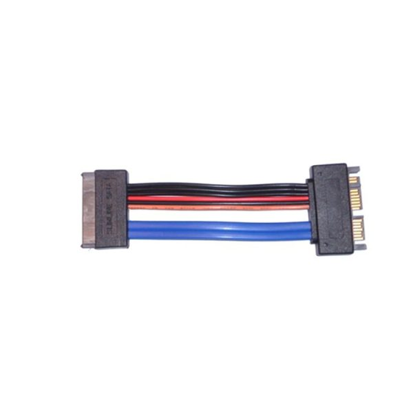 sata 16-pin male to female extension cable
