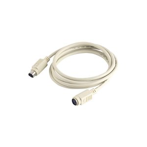 Mini DIN 6 Pin Male to Female Extension Cable
