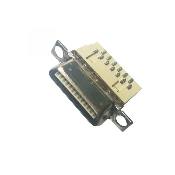 1.0mm Pitch 26 pin VHDCI solder SCSI Connector