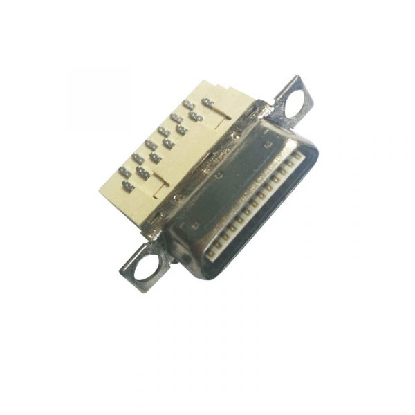 1.0mm Pitch VHDCI 26 pin plug Solder Connector