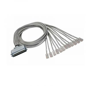 50 pin RJ21 to 12 ports RJ45 Cat3 Telco Breakout Cable