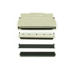HPCN 100 pin SCSI-II Connector with Metal Cover