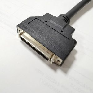 MDR50 pin female to female Cable with Bracket Latch