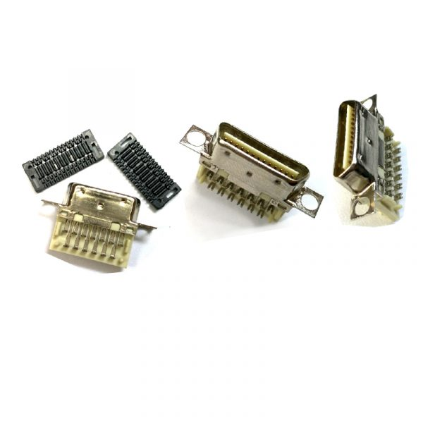 IDC type 1.0mm Pitch VHDCI 26 Pin Male Connector