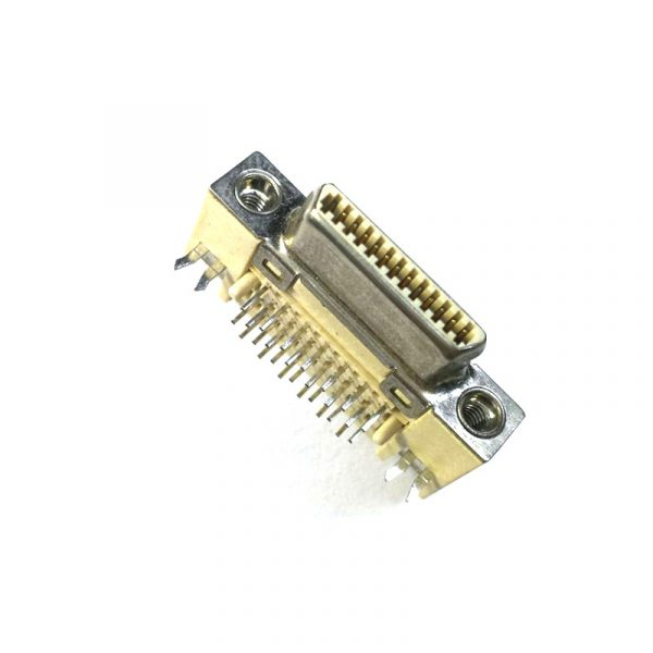 PCB Mount 90 degree VHDCI 26 pin Connector