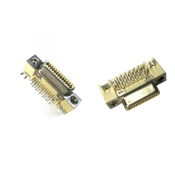 Pitch 1.0mm 90 Degree VHDCI26 pin Female Connector