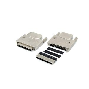 IDC type 0.8mm VHDCI 68 male scsi connector