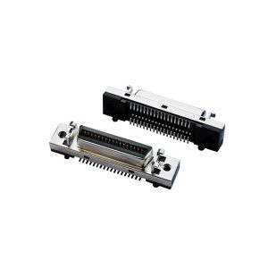 Right angle SCSI MDR 36 pin female connector for PCB