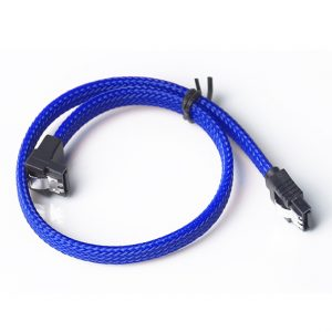 right angle sata 3.0 cable with latch