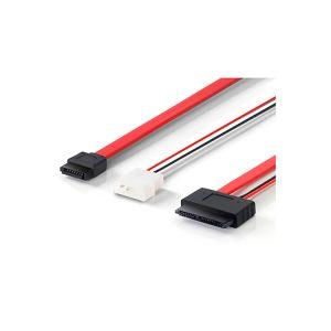 16P Micro SATA to 7P SATA Molex Power Cable