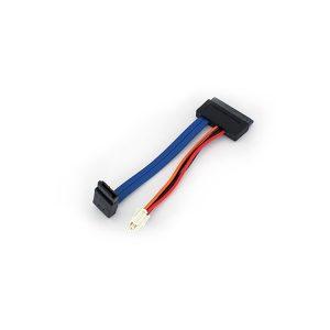 16 Pin SATA to 7 Pin SATA+Samtec 4 Pin data Cable