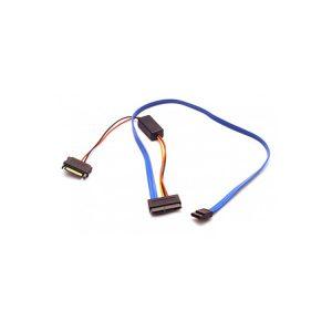 16 pin Micro SATA to 7 Pin SATA with 5V to 3.3V Converter