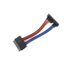 Micro SATA 16 pin to 22 Pin left Angle SATA III Cable