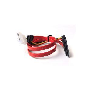 4 Pin Molex to SATA Power Plus Data Cable
