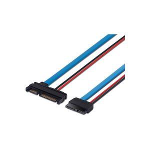 7+15 22 pin SATA to slimline SATA 13 pin adapter Cable