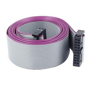 2.54mm Pitch IDC 20 Pin female Connector Flat Cable