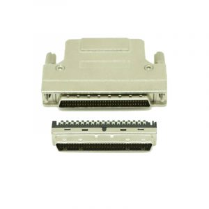 DB 68 pin SCSI Solder Connector with screw