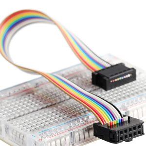 10 Pin ASP ISP JTAG AVR Flat Ribbon Data Cable