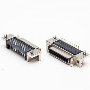 90 degree MDR36 Pin Female Connector