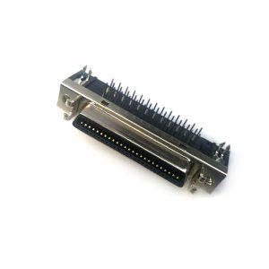 Slot type angle HPCN 50 pin female servo driver Connector