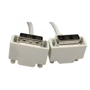 Down angle DVI-D 18+1 single link Digital Video Cable